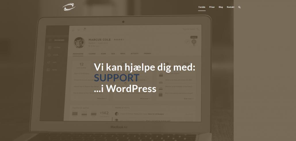 WordPress hjemmesider og opdateringer - OKEIwebbureau