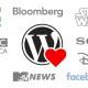 WordPress bruges af store virksomheder og nyhedsmedier