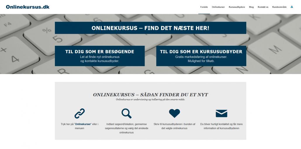 Onlinekursus - find det næste her - Mange kursusudbydere fra Danmark