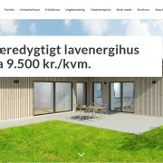 Reference - WordPress hjemmeside - Containerhus - Danish Container House ApS