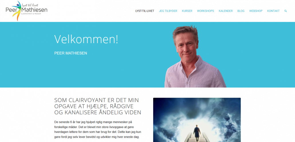 Reference - WordPress hjemmeside - WordPress opdateringer - Peer Mathiesen