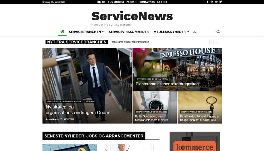 Nyheder fra servicebranchen - ServiceNews